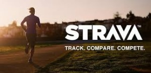 Training profile on Strava